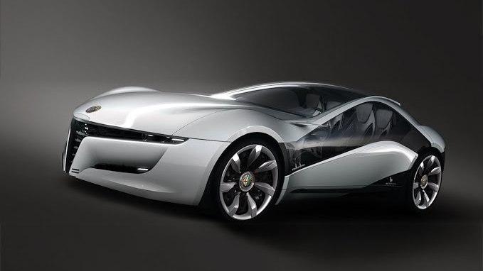 2010 Stile Bertone Alfa Romeo Pandion Concept leak