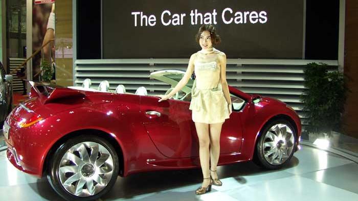 2003 Kia KCV3 concept, Tokyo Motor Show