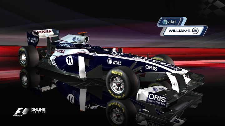 F1 Online racing game