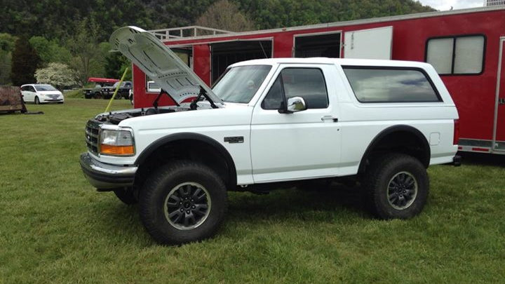 Bronco on Raptor Chassis