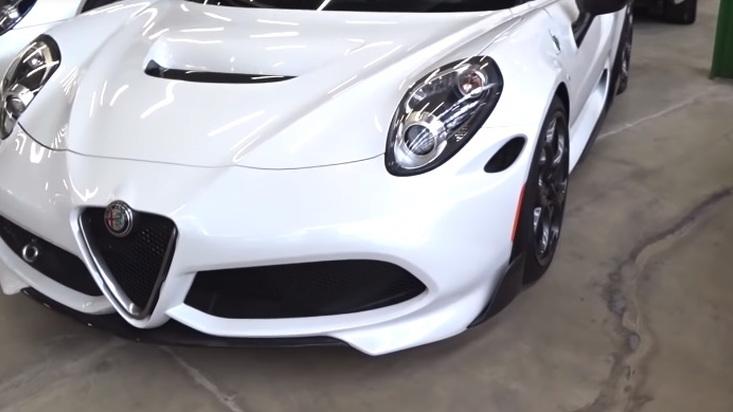 Alfa Romeo 4C Quadrifoglio prototype