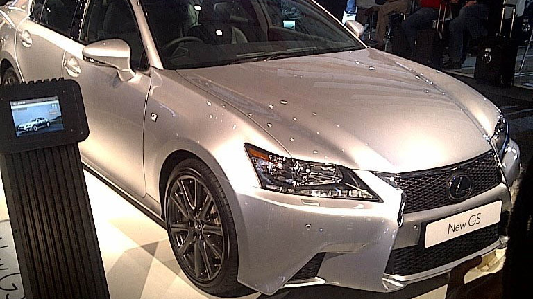 2013 Lexus GS 350 F Sport at South African unveiling