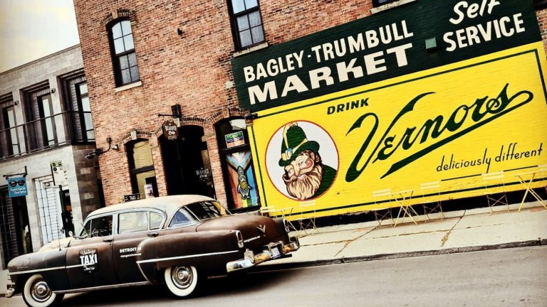 Devin Sykes's 1953 Chrysler New Yorker taxicab | Devin Skyes and Vintage Taxi Tours photos