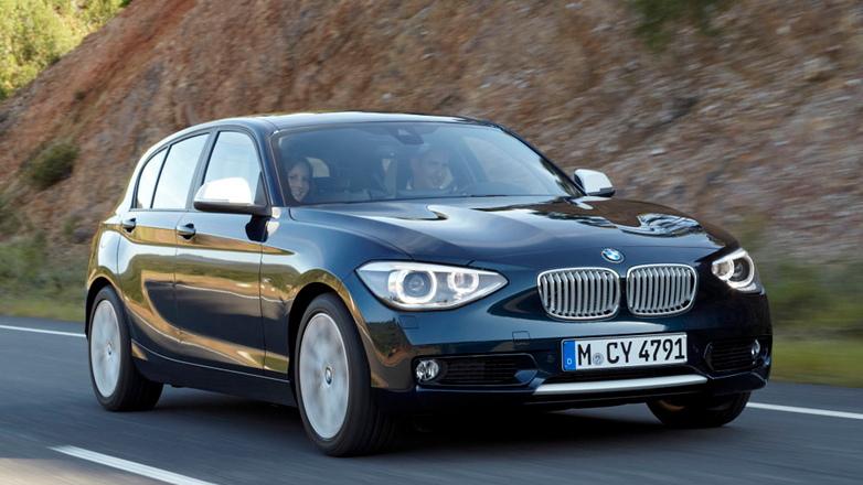 2012 BMW 1-Series European-spec leaked images