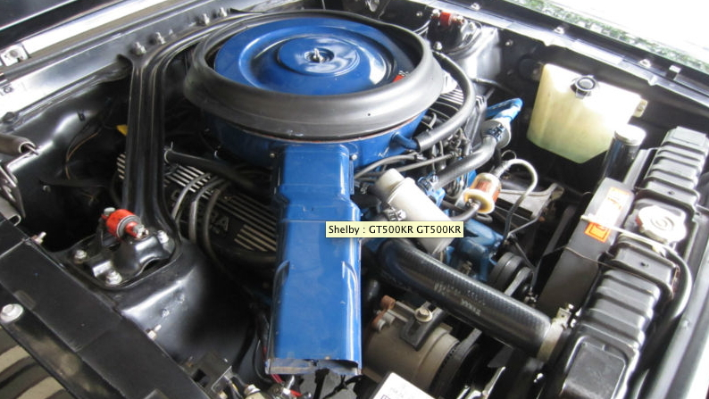 1968 Shelby GT500KR Convertible, for sale on eBay - image: eBay Motors