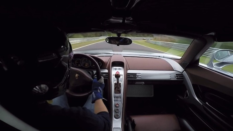 Porsche Carrera GT driven at the 'Ring
