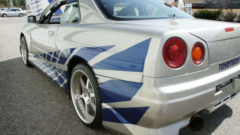 1999 Nissan Skyline GT R R34 From 2 Fast Furious