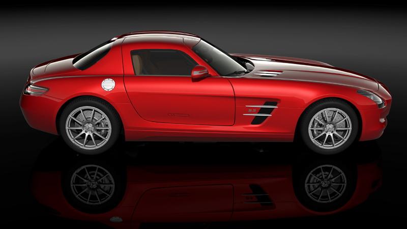 2010 Mercedes-Benz SLS AMG in Gran Turismo 5