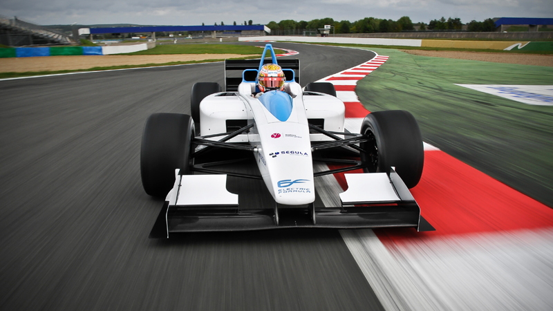 Formulec EF01 Electric Racing Car