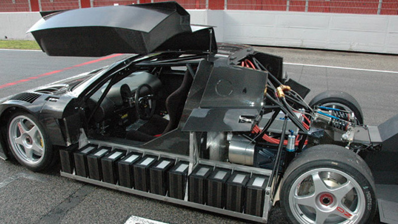 Quimera AEGT electric supercar prototype