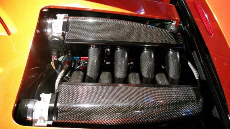 Falcon F7 supercar