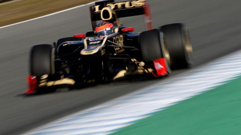 Photo courtesy Lotus F1 Team