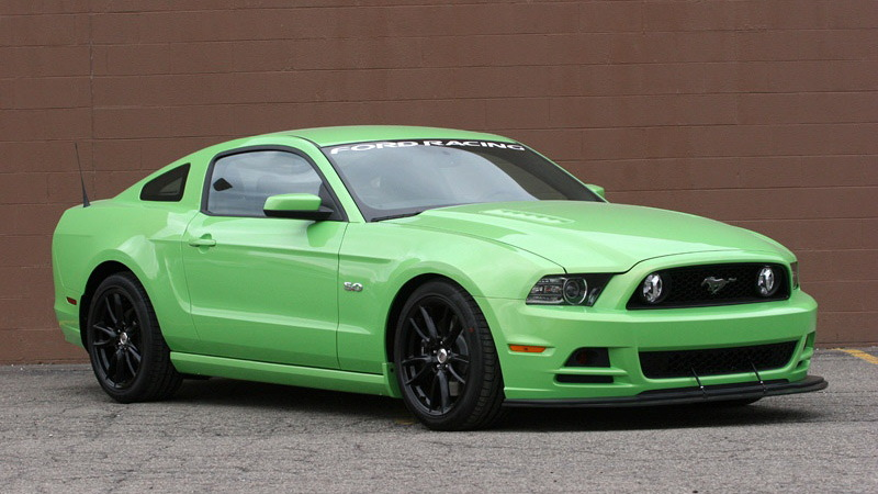 The Ford Racing Performance Parts 2013 Mustang GT project car