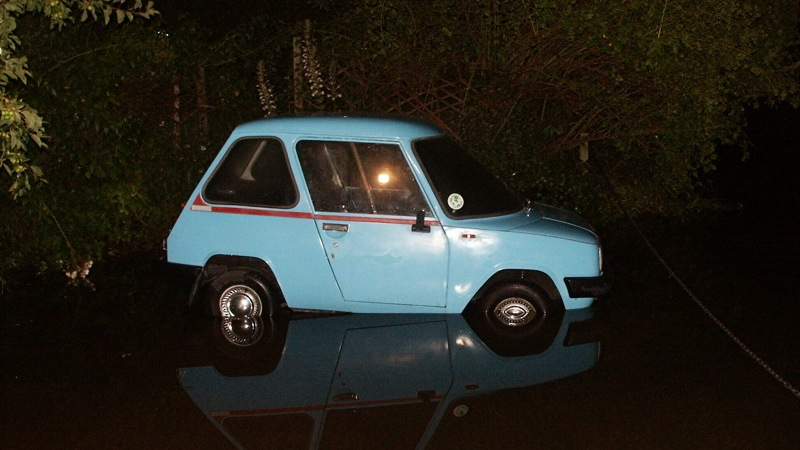 1974 Enfield 8000 Electric Car