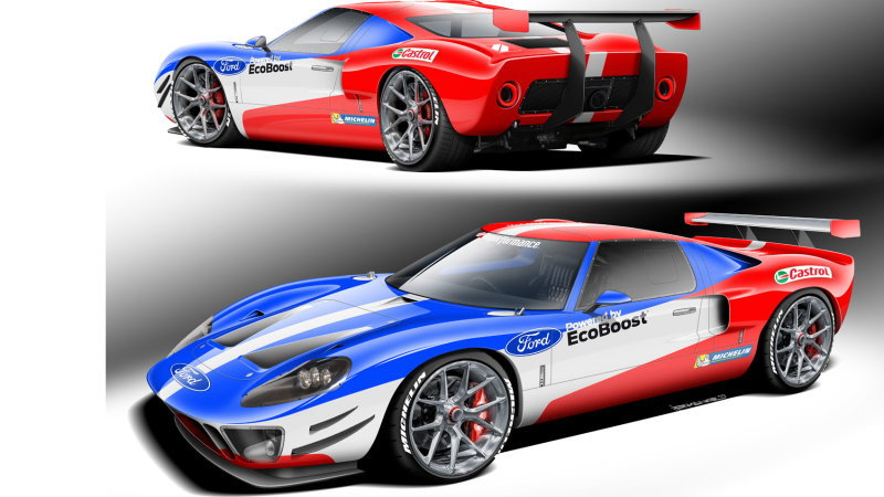Superformance Ford GT40 replica for SEMA