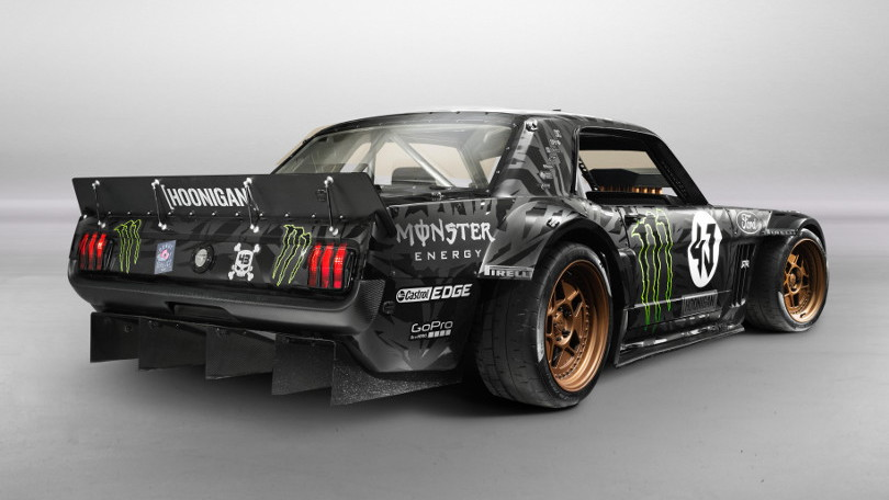 Ken Block's Hoonicorn RTR for Gymkhana 7
