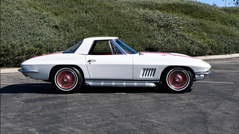 1967 COPO Corvette ordered by GM designer Bill Mitchell