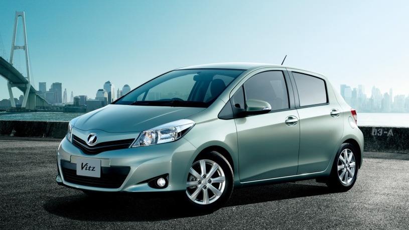 JDM Vitz previews 2012 Toyota Yaris