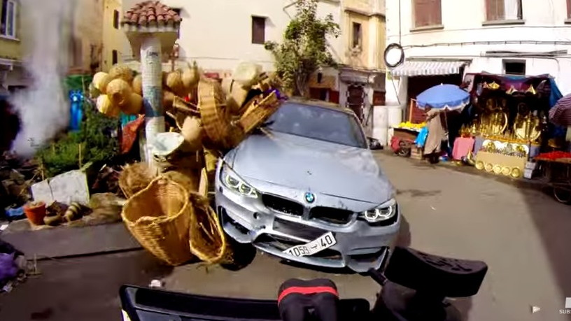 Mission Impossible: Rogue Nation BMW Stunts