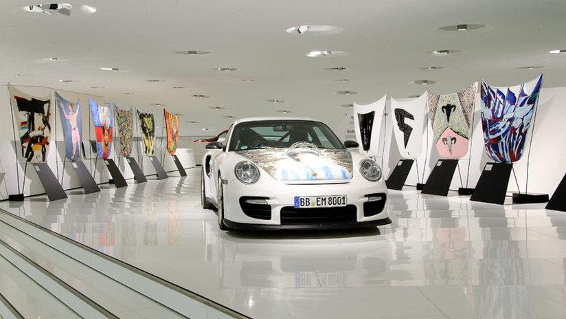 Porsche 911 GT2 Colección Goméz art cars