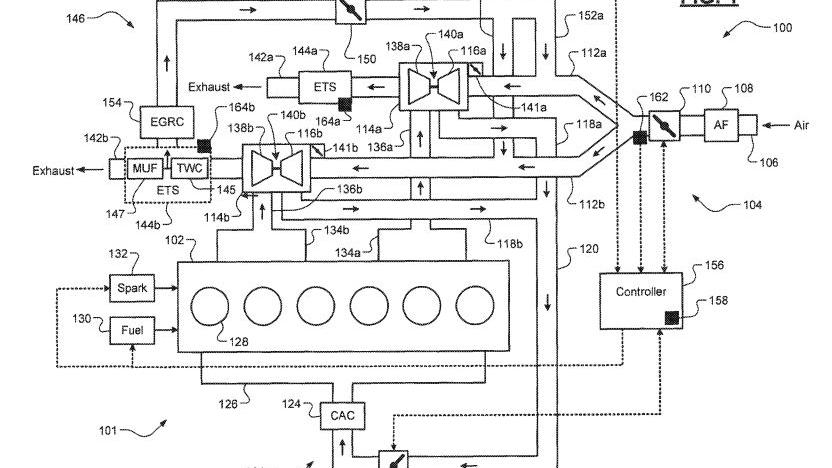 FCA Inline-6 EGR patent