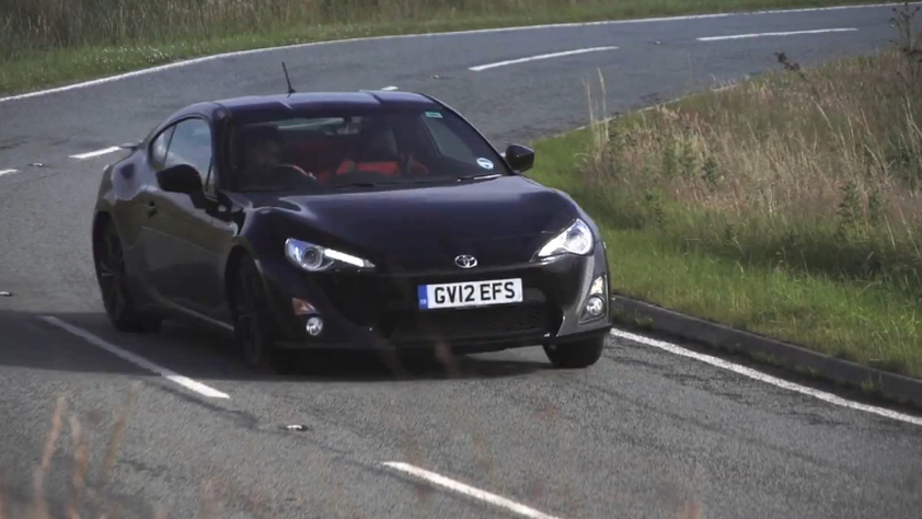 Chris Harris flogs the Scion FR-S in Wales