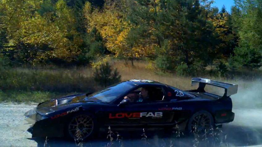 The LoveFab Pikes Peak Hill Climb Acura NSX