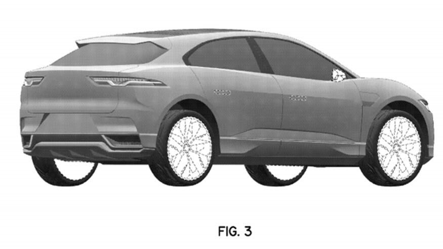2022 Jaguar I-Pace patent image