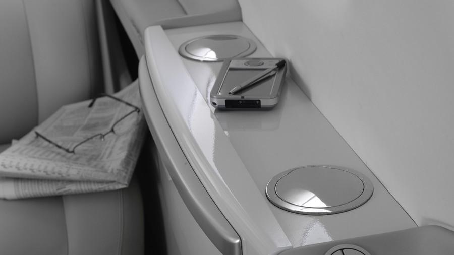 BMW DesignworksUSA Embraer Phenom jet interior