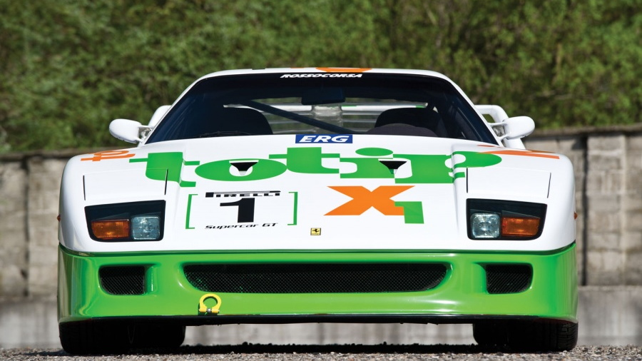 A 1987 Ferrari F40 Prototype/GT