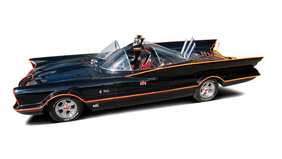 The George Barris-designed Batmobile - image: Barrett-Jackson