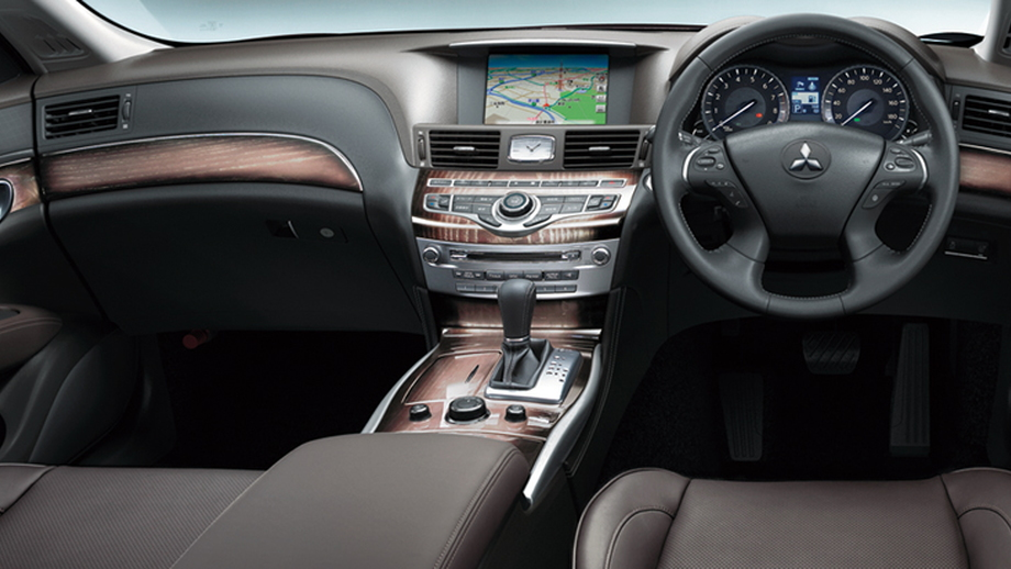 Mitsubishi Dignity VIP luxury hybrid sedan