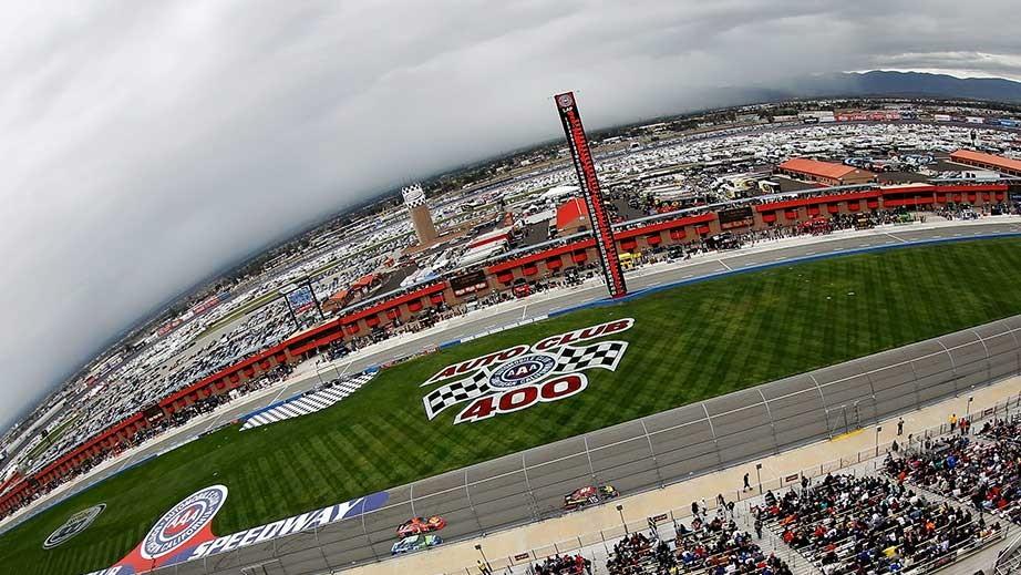 Auto Club Speedway in Fontana, California - image: NASCAR