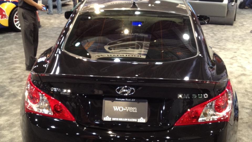 Rhys Millen RM500 Hyundai Genesis Coupe at SEMA 2011