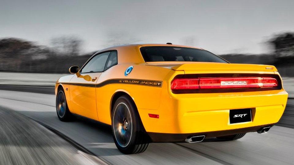2012 Dodge Challenger SRT8 Yellow Jacket