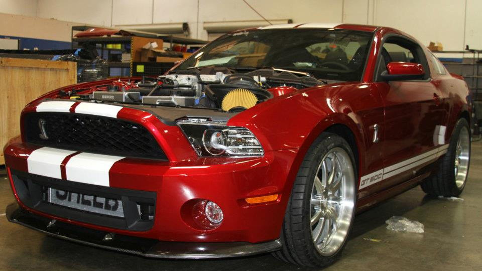 2013 Ford Shelby GT500 continues transformation into 2013 Shelby GT500 Super Snake