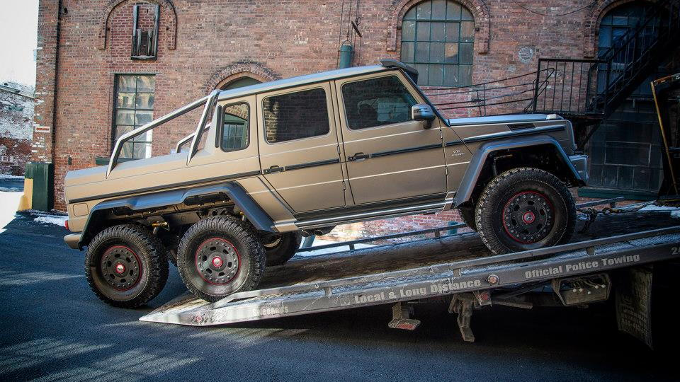 G63 Amg 6X6 >> Mercedes Benz Brings G63 Amg 6x6 To The Northeast