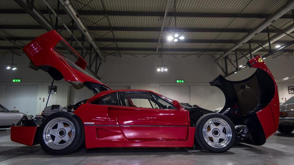 Duemila Route Auction Ferrari F40