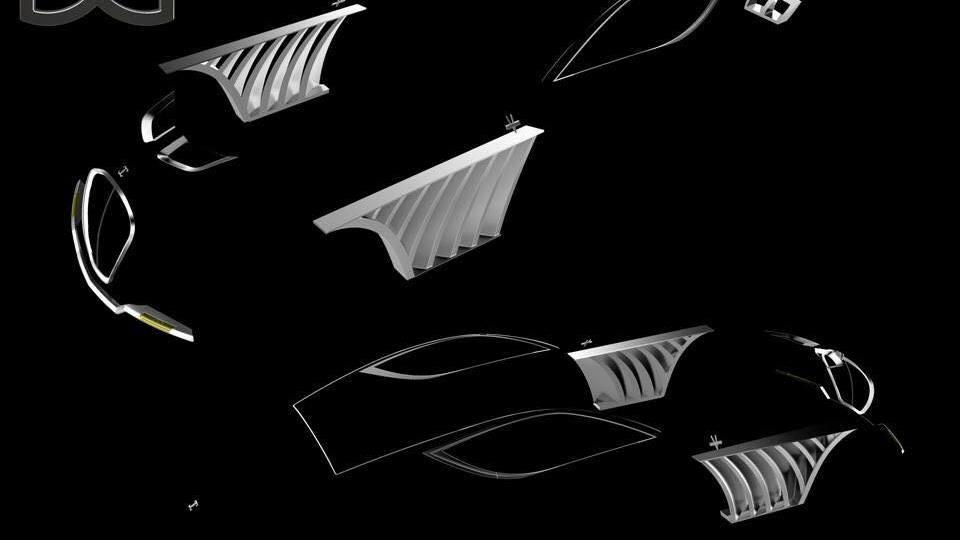 Godsil Manhattan V16 Super-Coupe teased