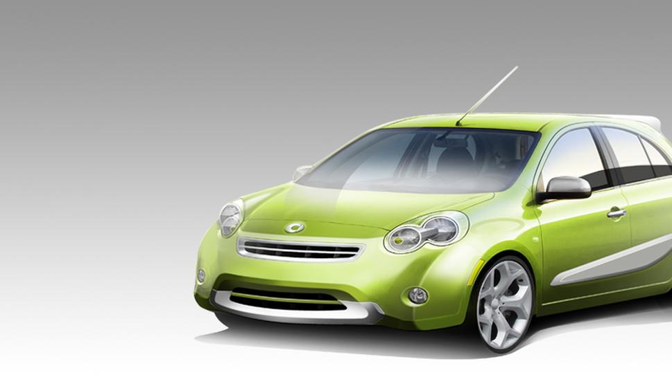 2012 Smart-Nissan hatchback