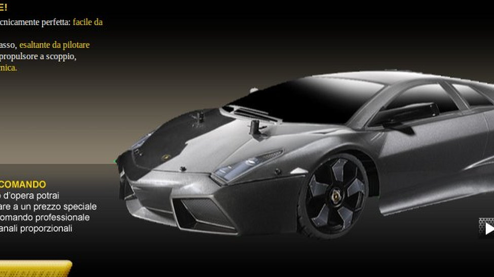 Build And Drive Your Own Lamborghini Reventon R C Car