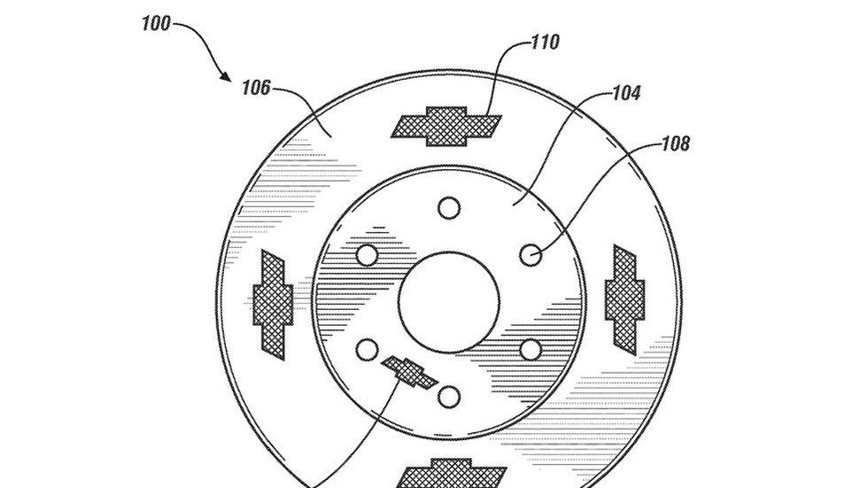 Chevrolet brake rotor
