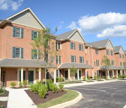Image Of Corner Park Apartments In West Chester, PA