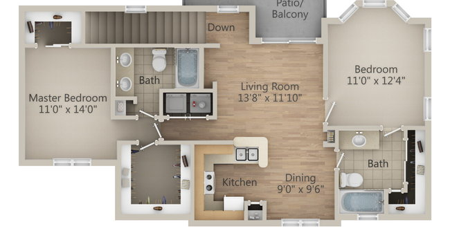 Incredible Richmond Towne Homes Apartments 59 Reviews Houston Tx Download Free Architecture Designs Remcamadebymaigaardcom