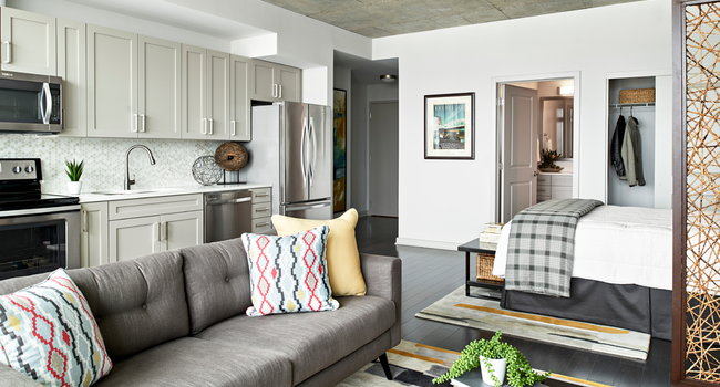 Offering expansive studio apartments