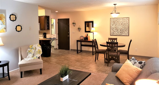 Spacious & Inviting Living Rooms