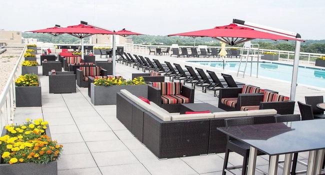 Sleek Rooftop Pool with Breathtaking Views