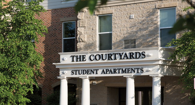 Image Of The Courtyards In Ann Arbor Mi