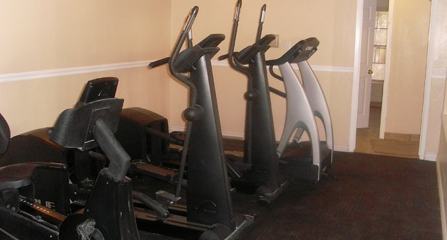 Get a good work out in our exercise center!